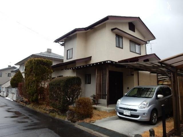 茅野市 中大塩中古住宅の外観写真