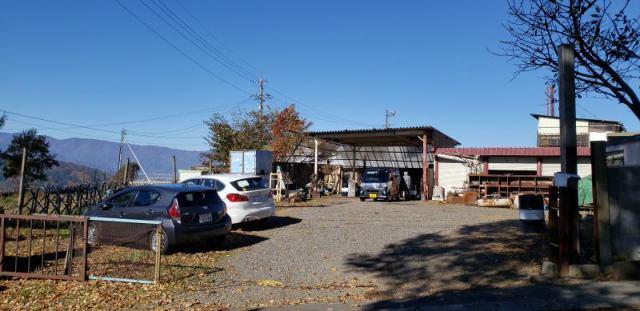 塩尻峠 工場・作業所・資材置場の外観写真
