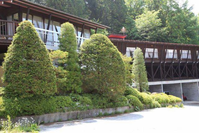 大町山荘の外観写真