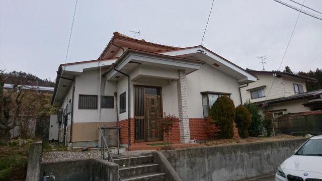 池田町渋坂団地 中古住宅の外観写真
