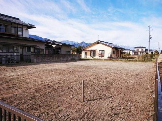 松川村赤芝 住宅用地の外観写真