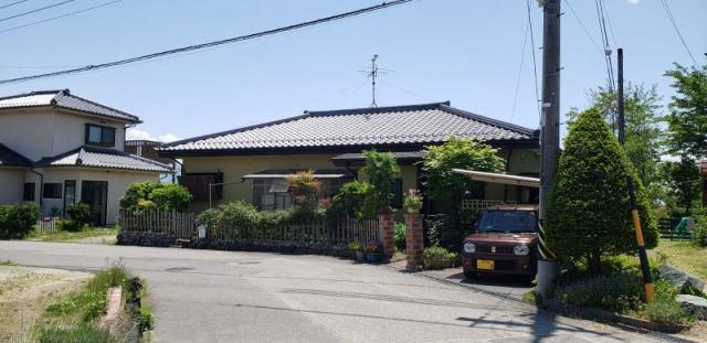 松川村南神戸 平屋建住宅の外観写真