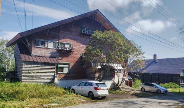 斑尾高原 中古別荘(元ペンション)の外観写真