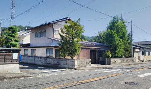 大町市旭町 中古住宅の外観写真