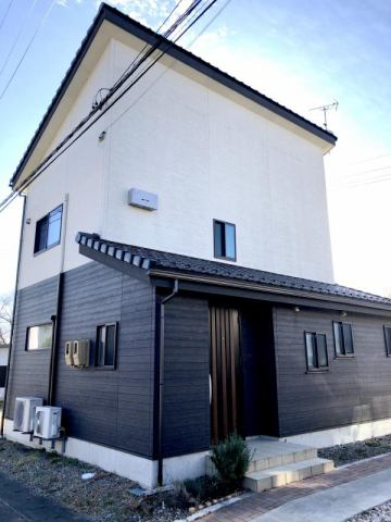 池田町高瀬南団地内 築浅物件の外観写真