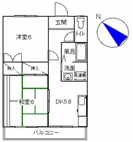 第1エステート富士の間取り