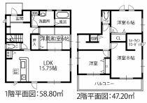 新築戸建 稲沢市目比町(全4棟) 1号棟