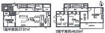 新築戸建 稲沢市目比町(全4棟) 3号棟