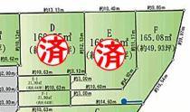 土地 豊田市駒新町金山 全10区画の間取り