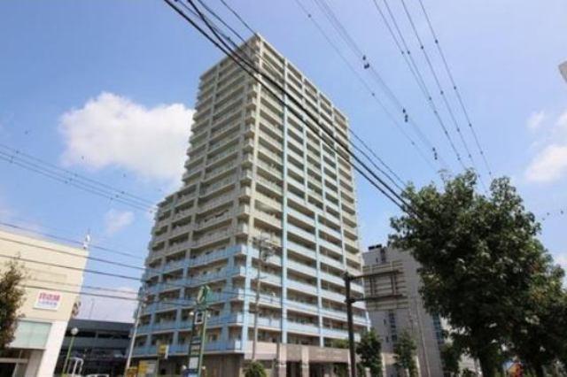 ガーデンヒルズ三河安城ザ・タワーの外観写真