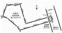 京都市 左京区下鴨 東半木町の区画図
