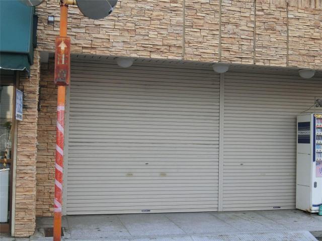 上畠倉庫の外観写真