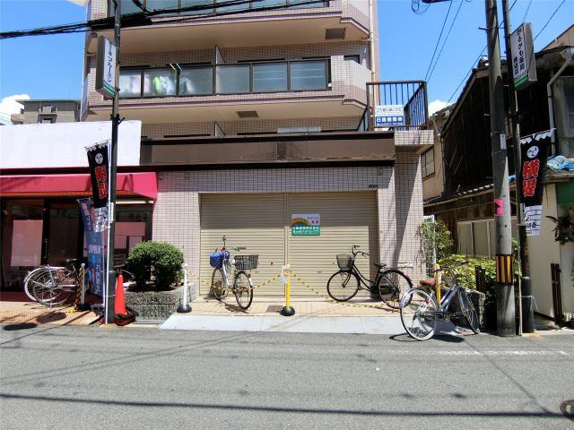 鶴見パールハイツ1階店舗の外観写真