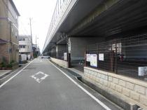 武庫川第1月極駐車場の外観写真