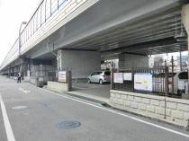 武庫川第4月極駐車場の外観写真