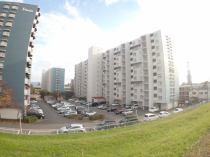 淀川パークハウス5号棟の外観写真