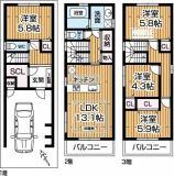 人気の4LDK!各部屋独立しています。