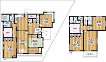6LDK+納戸 2階にはシャワー室が有ります!