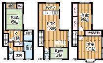 二世帯住宅向き4LDK+K