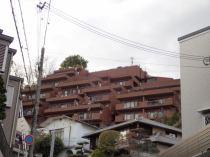 カトレア岡本壱番館の外観写真