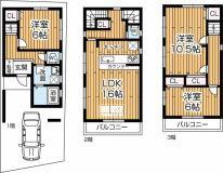 相川2丁目新築一戸建ての外観写真