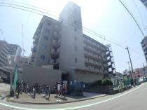 日商岩井野田海老江マンションの外観写真