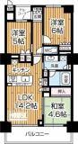 大阪福島タワーの間取り