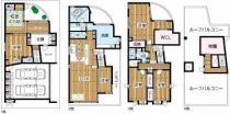 新芦屋下戸建2世帯可能住宅の外観写真
