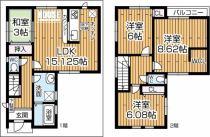 上野東1丁目新築一戸建て(1号棟)の外観写真