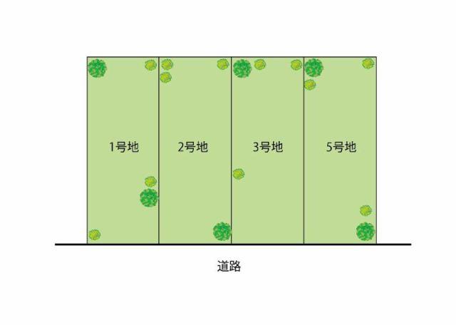 エスコート岸和田市 藤井町1丁目の区画図です。