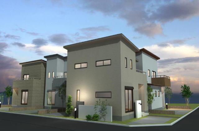 エスコート岸和田市 上松町の完成予想図です。