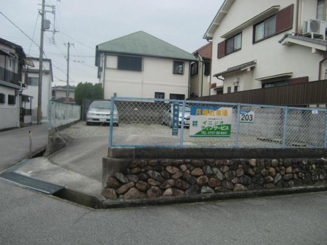 亀井町駐車場の外観写真