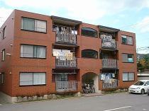 スカイマンションの外観写真