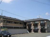 アパートメントカサブランカBの外観写真