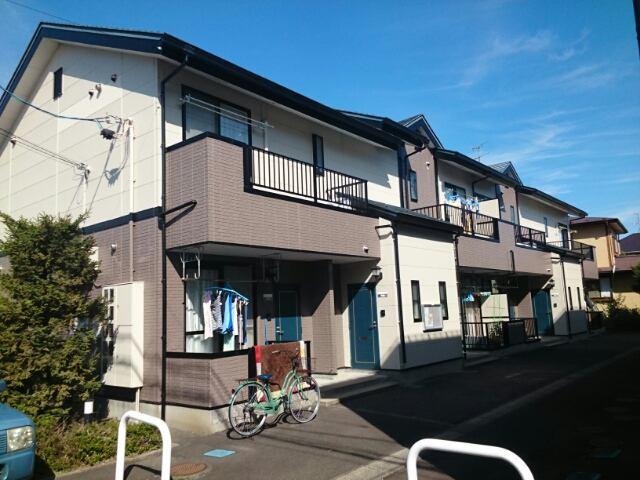 ニューシティ藤澤A棟の外観写真