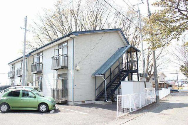 コーポラス欅(けやき)A棟の外観写真