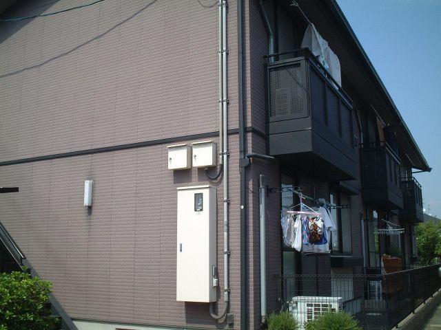 ラフィーネTM C棟の外観写真
