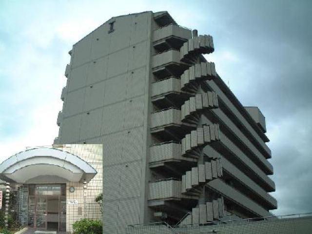 新倉敷駅前再開発住宅の外観写真
