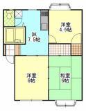 3DKのお部屋です。