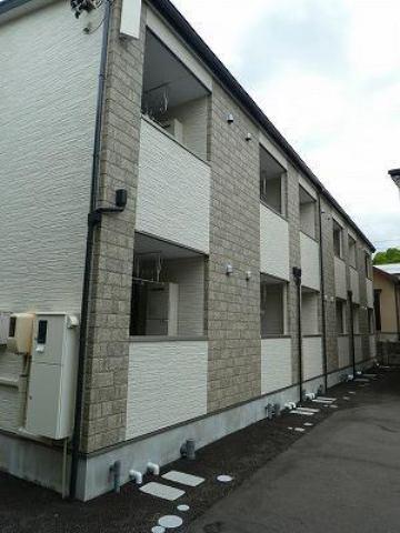 (仮)尾長東アパートC棟の外観写真