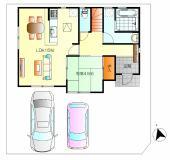 敷地面積212.46㎡(64.26坪)★2台駐車可能です。