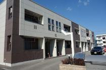 高耐震重軽量鉄骨造の建物です。