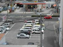 阿賀駅前もみじ銀行横の月極駐車場