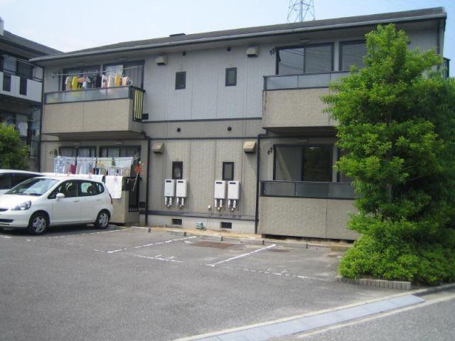 ヴィラハナミズキA棟・B棟の外観写真