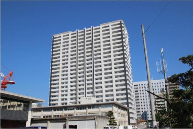 広島ガーデンシティ白島城北イーストタワーの外観写真