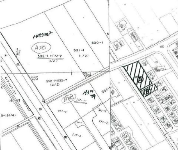 山口県防府市田島532‐1の地図