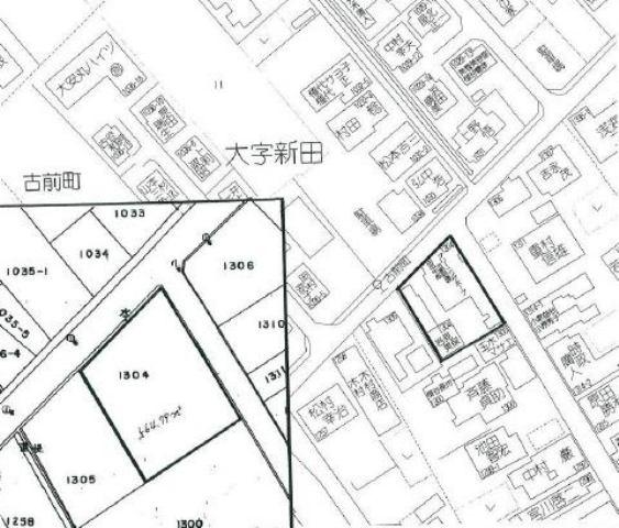 山口県防府市新田1304の地図