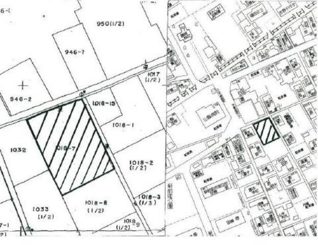 山口県防府市田島1018‐7の地図