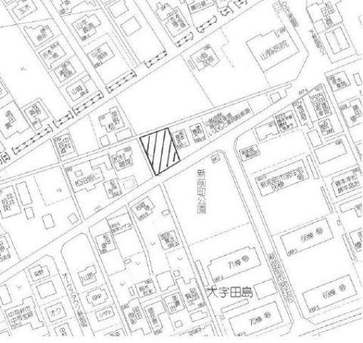 田島1068の地図