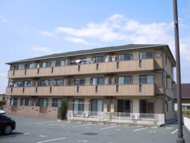 サントガスパーレA棟の外観写真